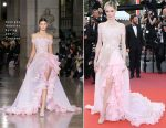 Coco Rocha In Georges Hobeika Couture - 'The Meyerowitz Stories' Cannes Film Festival Premiere