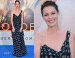 Connie Nielsen In Alberta Ferretti - 'Wonder Woman' LA Premiere