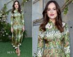 Dakota Johnson In Gucci - Gucci Bloom Fragrance Launch