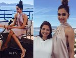 Deepika Padukone In Galvan London - L' Oreal Paris Press