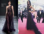 Deepika Padukone In Marchesa - 'Ismael's Ghosts' Cannes Film Festival Premiere