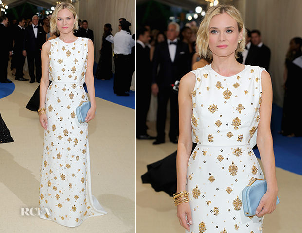 Diane Kruger In Prada - 2017 Met Gala - Red Carpet Fashion Awards 355adbb25c1