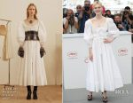 Elle Fanning In Alexander McQueen - 'The Beguiled' Cannes Film Festival Photocall