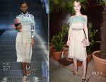 Elle Fanning In Prada - Prada Private Dinner