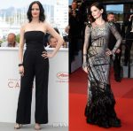 Eva Green In Stella McCartney & Alexander McQueen - 'Based On A True Story' Cannes Film Festival Photocall & Premiere