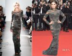 Eva Longoria In Pamella Roland - Cannes Film Festival 70th Anniversary Celebration