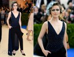 Evan Rachel Wood In Altuzarra - 2017 Met Gala