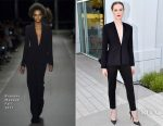 Evan Rachel Wood In Brandon Maxwell - HBO's 'Westworld' FYC