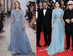 Fan Bingbing In Elie Saab Couture - 'Ismael's Ghosts' Cannes Film Festival Premiere