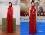 Gal Gadot In Givenchy - 'Wonder Woman' LA Premiere