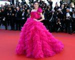 Araya A. Hargate In Zuhair Murad Couture - '120 Beats Per Minute' Cannes Film Festival Premiere