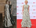 Gillian Anderson In Erdem - Virgin TV BAFTA Television Awards
