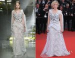 Greta Gerwig In Rodarte - 'The Meyerowitz Stories' Cannes Film Festival Premiere