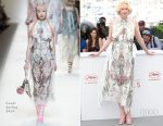 Gwendoline Christie In Fendi -  'Top Of The Lake: China Girl' Cannes Film Festival Photocall