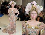 Haley Bennett In Dolce & Gabbana Alta Moda Couture - 2017 Met Gala
