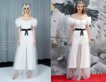 Hermione Corfield In Alessandra Rich - 'King Arthur: Legend of the Sword' London Premiere