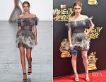 Holland Roden In Tadashi Shoji - 2017 MTV Movie & TV Awards