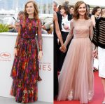 Isabelle Huppert In Gucci & Christian Dior Couture - 'Happy End' Cannes Film Festival Photocall & Premiere