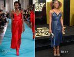 Issa Rae In Off-White - 2017 MTV Movie & TV Awards