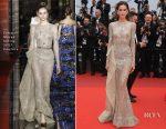 Izabel Goulart In Zuhair Murad Couture - 'L'Amant Double (Amant Double)' Cannes Film Festival Premiere