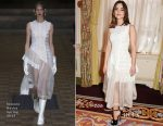 Jenna Coleman In Simone Rocha - Harper's Bazaar 150th Anniversary Party
