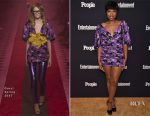 Jennifer Hudson In Gucci - Entertainment Weekly And PEOPLE Upfronts Party