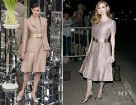 Jessica Chastain In Chanel Couture -  'Vanity Fair Chanel' Dinner