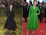 Jessica Chastain In Christian Dior Couture - 'The Meyerowitz Stories' Cannes Film Festival Premiere