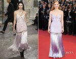 Jessica Chastain In Givenchy Couture - 'Okja' Cannes Film Festival Premiere