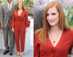 Jessica Chastain In Roksanda - 2017 Cannes Film Festival Jury Photocall