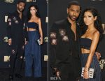 Jhene Aiko In DKNY & Big Sean In Dior Homme - 2017 MTV Movie & TV Awards