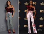 Jourdan Dunn In Johanna Ortiz - 2017 MTV Movie & TV Awards