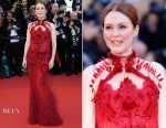 Julianne Moore In Givenchy Couture - 'Ismael's Ghosts' Cannes Film Festival Premiere