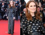 Julianne Moore In Louis Vuitton - 'Okja' Cannes Film Festival Premiere