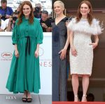 Julianne Moore In Sonia Rykiel & Chanel Couture - 'Wonderstruck' Cannes Film Festival Photocall & Premiere