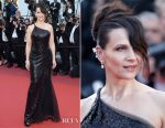 Juliette Binoche In Armani Prive - 2017 Cannes Film Festival Closing Ceremony