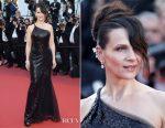 Juliette Binoche In Armani Prive - 2017 Cannes Film Festival Closing Ceremony