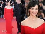 Juliette Binoche In Balmain - 'The Killing Of A Sacred Deer' Cannes Film Festival Premiere
