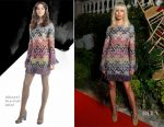 Karolina Kurkova In Missoni - AMORE Cocktail Reception