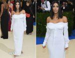 Kim Kardashian In Vivienne Westwood - 2017 Met Gala