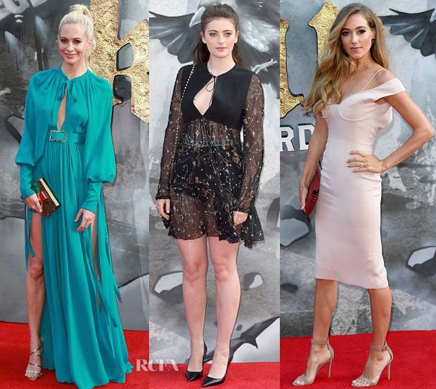 hermione corfield wasnu0027t the only one at the london premiere of u0027king arthur legend of the swordu0027 on wednesday may 10 here are a few more femmes who