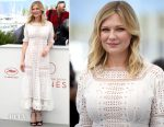 Kirsten Dunst In Loewe - 'The Beguiled' Cannes Film Festival Photocall