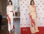 Kristen Scott Thomas In Schiaparelli Couture - Monte Carlo Casino Re-Opening