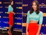 Laura Harrier In Paco Rabanne - 'Spider-Man: Homecoming' Sao Paolo Panel