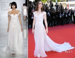 Lily Collins In Ralph & Russo Couture - 'Okja' Cannes Film Festival Premiere