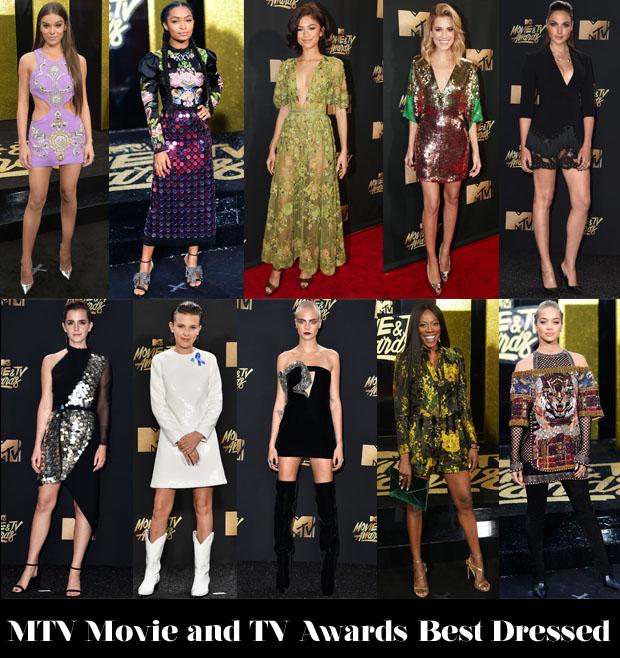 Mtv movie awards fashion