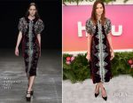 Michelle Monaghan In Mary Katrantzou - Hulu Upfront Brunch