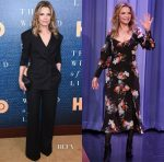Michelle Pfeiffer In Monse & Erdem - The Wizard Of Lies' New York Premiere & The Tonight Show Starring Jimmy Fallon