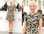 Michelle Williams In Louis Vuitton - 'Wonderstruck' Cannes Film Festival Photocall
