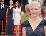 Michelle Williams In Louis Vuitton - 'Wonderstruck' Cannes Film Festival Premiere